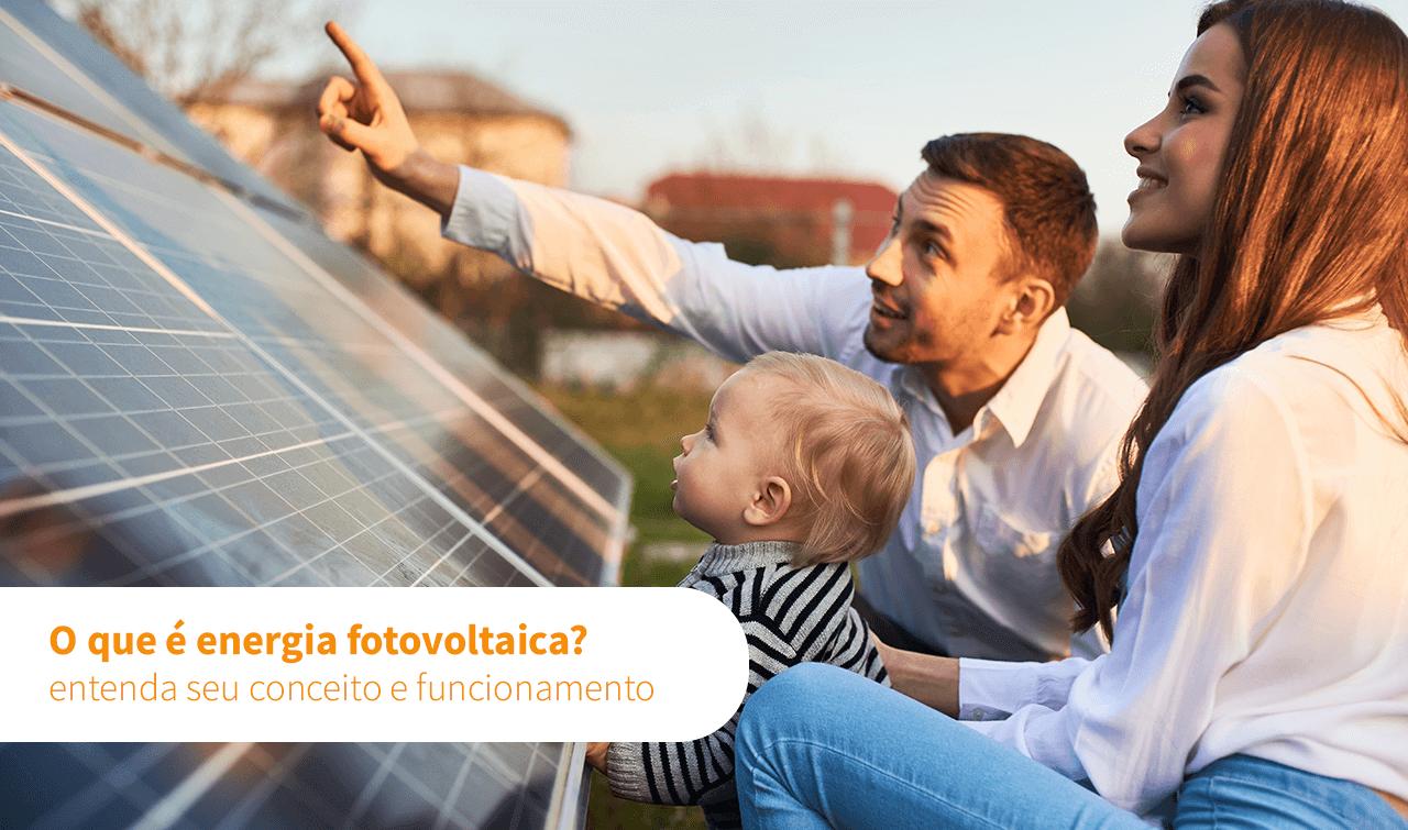O que é energia fotovoltaica?