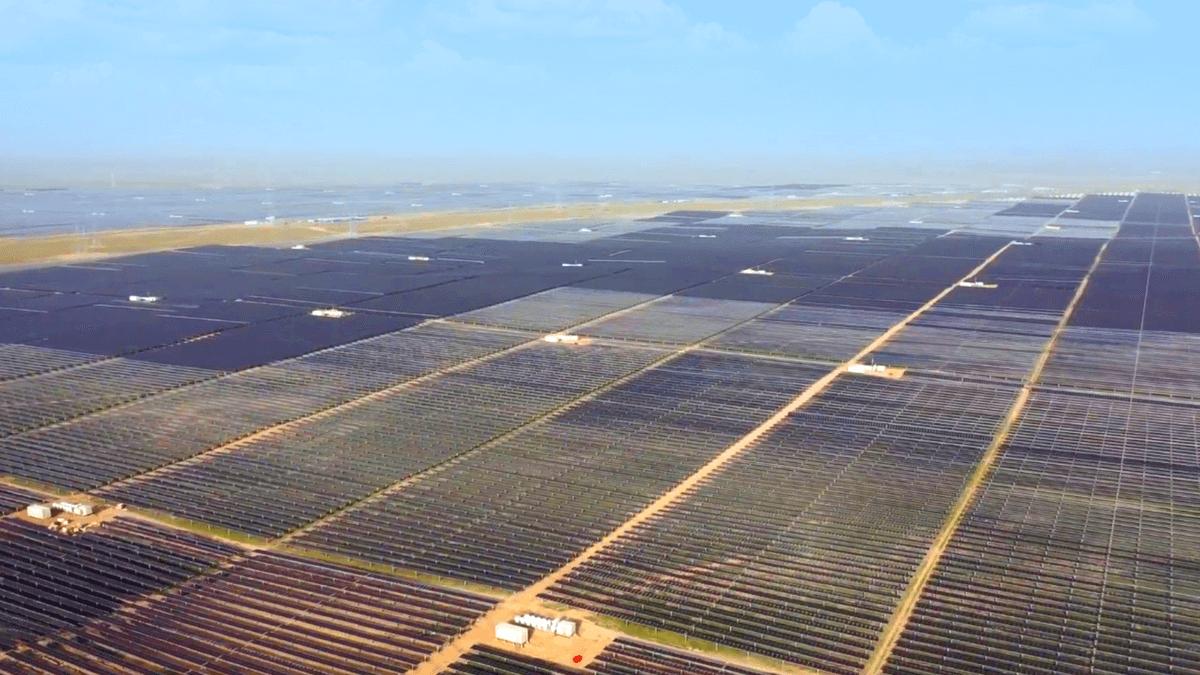 Tengger Desert Solar Park, China